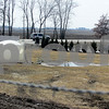 Katie Dahlstrom - kdahlstrom@shawmedia.com<br /> The Illinois Department of Public Health and the Envrionmental Protection Agency are investigating this tank and hose system that has been pumping sewage from the Cortland mobile home park onto the ground for weeks.