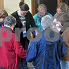 Katie Dahlstrom - kdahlstrom@shawmedia.com<br /> A group prays at the First Lutheran Church in DeKalb before they start a 40-minute walk as part of the Lenten Prayer Walk the church will host every Friday through Good Friday.