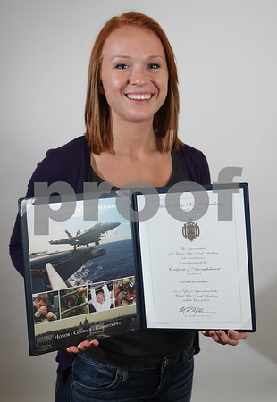 Monica Maschak - mmaschak@shawmedia.com<br /> Genoa-Kingston High School senior Amanda Murray, 18, was recently accepted to the United States Naval Academy in Annapolis, Maryland.