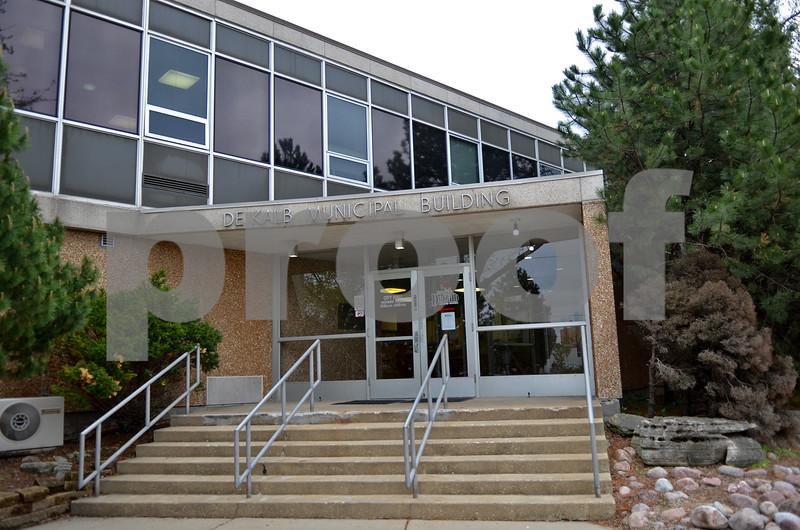 Monica Maschak - mmaschak@shawmedia.com<br /> City of DeKalb Municipal Building.