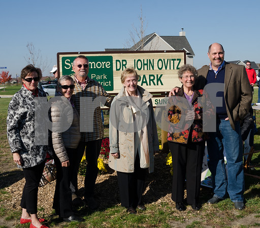 Ovitz park Dedication