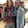 Provided Photo<br /> Angel Pavia and Jasmine Malloy
