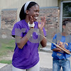 Monica Synett - mmaschak@shawmedia.com<br /> Keyana Williams, 26, has lived at University Village for six years and has two children. During the summer she became a mentor for Camp Power, a summer camp created for children living in University Village.