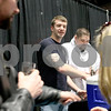 Monica Synett - msynett@shawmedia.com<br /> Ryan Taves, a brewer with Cademon Brewing in Genoa, pours samples of Cademon's beer during the annual America on Tap Beer Festival at the Convocation Center in DeKalb on Saturday, March 28, 2015. This is the festival's first year in DeKalb and the event sold out to 1600 people. Seventy four national and local breweries were represented at the event.