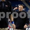 Laura McDermott for Shaw Media             <br /> Northern Illinois University head coach Rod Carey is seen during the 2015 MAC Championship Game at Ford Field in Detroit, Mich. on Dec. 4, 2015. Bowling Green University beat Northern Illinois University 34-14.