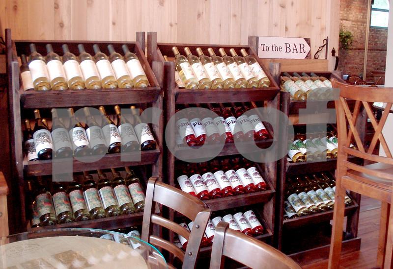 Bottles of Wine on Racks.JPG