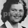 Jeanne Denby, senior class photo from Sycamore High School 1945
