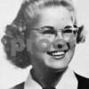Sonja Johnson, senior class photo from Sycamore High School 1945