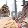 Sam Buckner for Shaw Media<br /> WWII veterans Albert Riippi (right) and Donald Schoo talk before the ceremony on Friday, October 9, 2015.