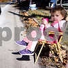 Sam Buckner for Shaw Media<br /> Emily Grudecki waits patiently for the Sycamore Pumpkin Parade to start on Sunday October 25, 2015.
