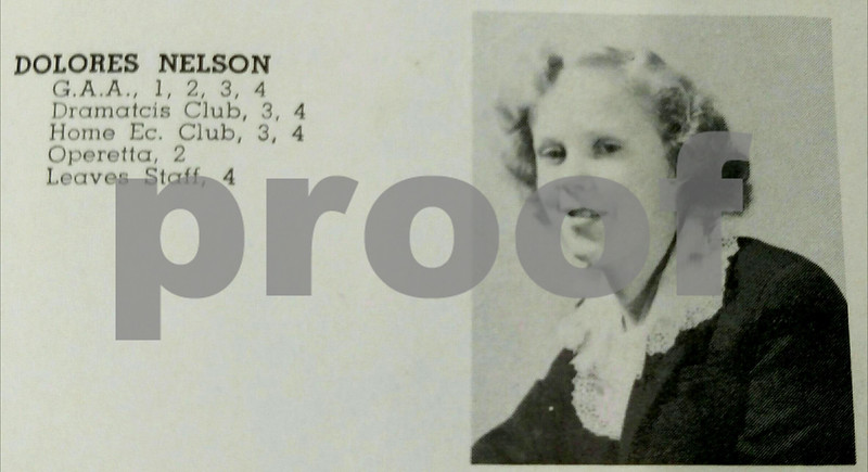 Provided Photo<br /> Some historical digging revealed that a Dolores Nelson lived in the Sycamore house in the 1940's and died several days before her 1944 graduation from Sycamore High School.