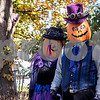 "Sam Buckner for Shaw Media<br /> The ""Pumpkin Heads"" walk to the staging area at the Sycamore Pumpkin Parade on Sunday October 25, 2015."