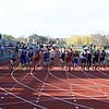 St. Charles North , Batavia , Kaneland, Geneva compete in the 800-meter run during the boys track and field invite at St. Charles North High School April 7.