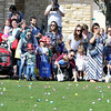 Children are ready for the hunt to begin during an Egg Hop at the Peg Bond Center in Batavia April 15.