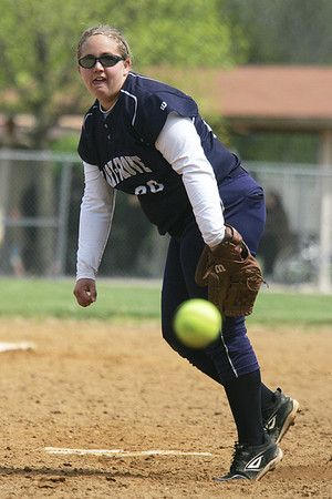 Mike Greene - mgreene@shawmedia.com Cary-Grove's Lindsay Efflandt pitches against Conant during the Woodstock Softball Invitational Saturday, April 21, 2012 in Woodstock. Cary-Grove won the game 2-1 in extra innings.
