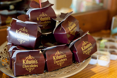 Mike Greene - mgreene@shawmedia.com A selection of gourmet chocolates is displayed at Kilwin's Chocolates Tuesday, April 24, 2012 in Lake Geneva. The store, which offers a variety of treats beyond just chocolate, makes their products fresh daily right in the store.