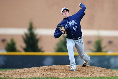 Daniel J. Murphy - dmurphy@shawmedia.com  Cary-Grove pitcher Ryan Kaveney strikes out Jacobs' Ryan Ulmer in the fourth inning Friday April 27, 2012 at Jacobs High School. Cary-Grove defeated Jacobs 3-1.