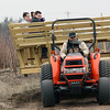 Jeff Krage – For the Kane County Chronicle<br /> People enjoy a hay ride Saturday during Heritage Day at Peck Farm Park.<br /> Geneva 4/6/13