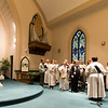 The Bethany Lutheran Church Choir practice before Palm Sunday Mass at Bethany Lutheran Church in Batavia, IL on Sunday, March 24, 2013 (Sean King for The Kane County Chronicle)