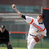 Jeff Krage – For the Kane County Chronicle<br /> St. Charles East's Matt Starai pitches during game one of Saturday's doubleheader at St. Charles East.<br /> St. Charles 4/27/13