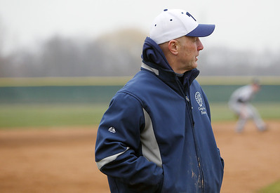 Sarah Nader - snader@shawmedia.com Cary-Grove head baseball coach Don Sutherland on Thursday, April 11, 2013.