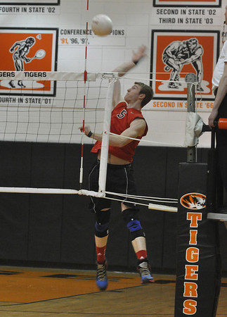 Glenbard East at WWS, boys volleyball