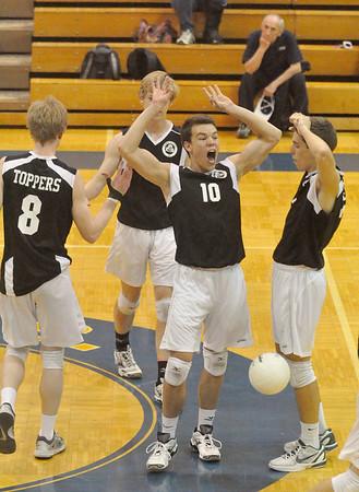 Glenbard West at Lyons Township volleyball