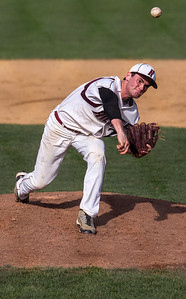 Kyle Grillot - kgrillot@shawmedia.com   Prairie Ridge junior Steven Ladd pitches the ball during the game against Crystal Lake South at Prairie Ridge high school on Tuesday, April 30, 2013. Crystal Lake South won the game 13-2.