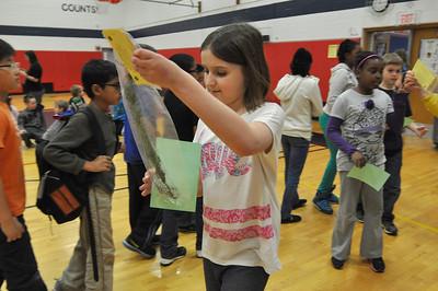 Lisle Lions Club visits Schiesher Elementary