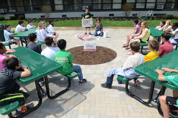 Outdoor classroom at Jackson