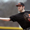 Jeff Krage – For Shaw Media<br /> St. Charles East second baseman Charles Alex Abate throws out a runner during Thursday's game in South Elgin.<br /> South Elgin 4/10/14