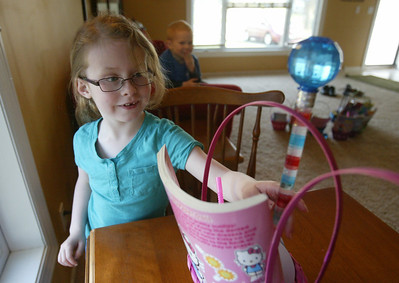 H. Rick Bamman - hbamman@shawmedia.com Six-year-old Ali VanDermey decided recently that she wanted to make Easter baskets for ill children at Rockford Memorial Hospital. With her own money she made 15 baskets that she will deliver to Rockford on Friday.
