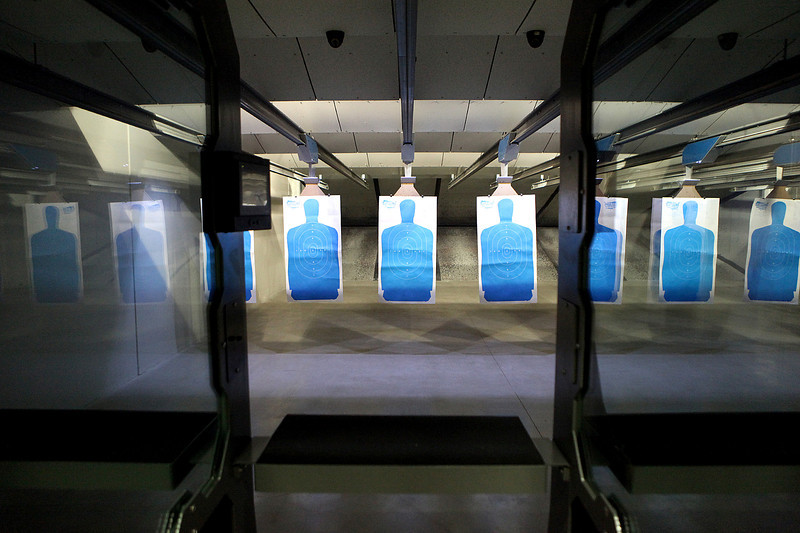 A conceal and carry class at Gat Guns in West Dundee.