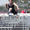 Kaneland's Brock Robertson Competes in the 110 Meter Hurdles during The Peterson Prep Track Meet<br /> at Kaneland High School in Maple Park, IL on Saturday, April 26, 2014 (Sean King for Shaw Media)