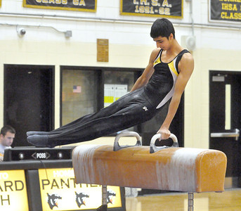 DVC boys gymnastics meet