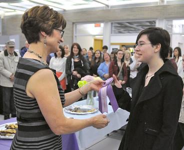 District 99 art show reception