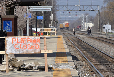 Downers Grove Metra platform replacement work starts