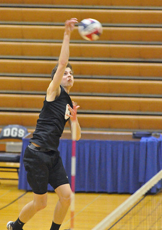 Downers Grove North vs. South volleyball