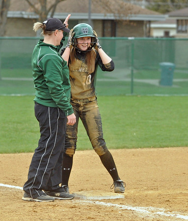 Glenbard West at York softball