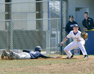 Glenbrook South at Wheaton North baseball