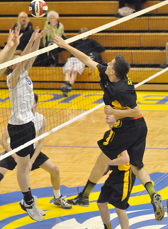 Hinsdale South at Lyons Township boys volleyball