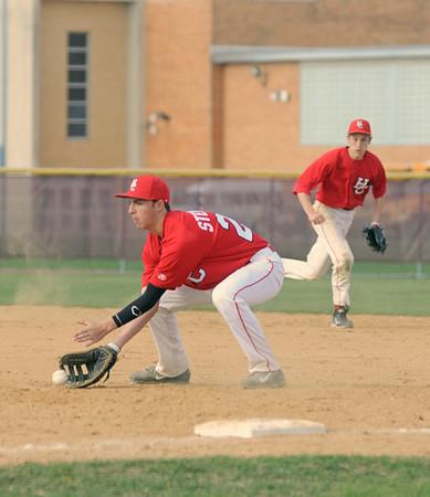 Hinsdale Central at Morton baseball