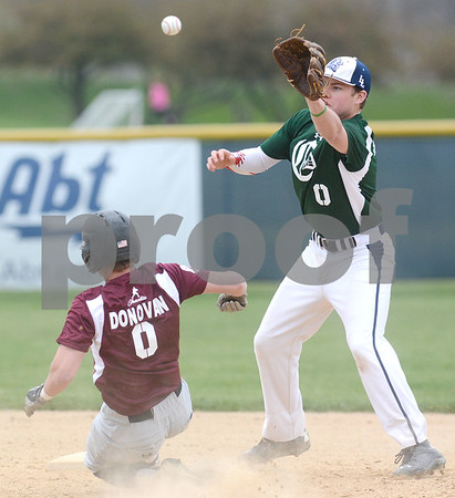 Lisle and Westmont play baseball in honor of Charlie Donovan, former Westmont standout player who died last fall