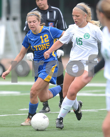 Lyons Township traveled to Glen Ellyn for a soccer matchup with Glenbard West