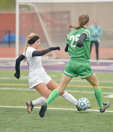 The York girls soccer team traveled to Downers Grove to take on Downers Grove North Tuesday