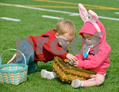 Berwyn city Easter egg hunt