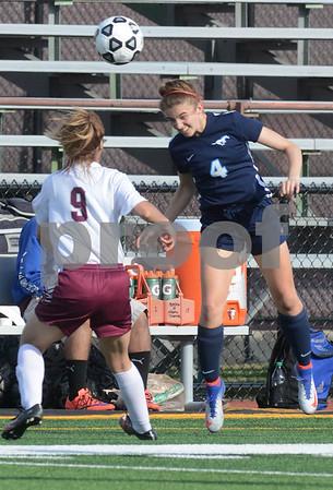 Downers Grove South girls soccer vs Morton