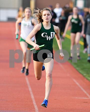 Glenbard West girls track