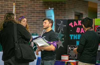 "Area residents attend the 8th annual domestic violence and sexual violence awareness event ""Take Back the Night"" at McHenry County College Wednesday, April 11, 2018 in Crystal Lake.  KKoontz- For Shaw Media"