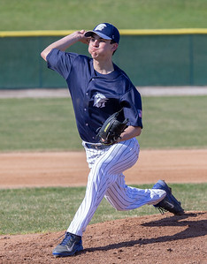 Cary Grove's Robert Deischer took the mound against Huntley Tuesday, April 24, 2018 in Cary. Cary went on to win the close contest 3-0.  KKoontz – For Shaw Media